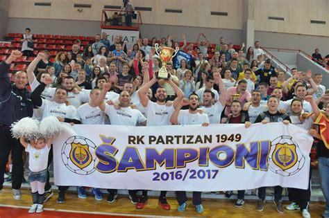 TIVAT SLAVI TITULU: RK Partizan 1949 ostvario istorijski ...