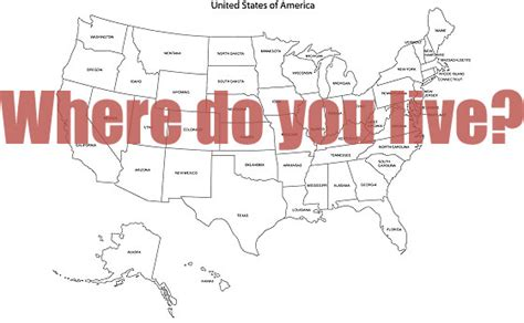 Poll What State Do You Live In, And Why