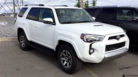 toyota runner trd  road  alpine white youtube