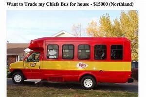 Kc Chiefs Depth Chart Craigslist Ad Chiefs Fan Wants To Trade His Chiefs Bus