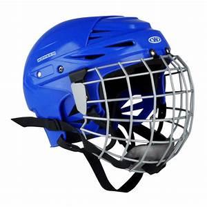 Hockey helmet WORKER Kayro - Blue - inSPORTline