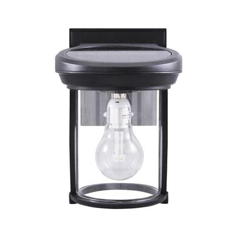 gama sonic usa inc solar coach lantern black solar