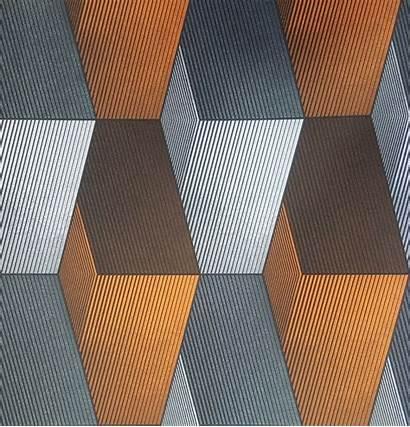 Orange Grey Modern Patterned 3d Wallpapers