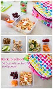 Back to School Lunches Ideas