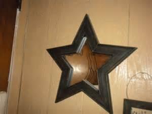 Primitive Country Star Bathroom Decor
