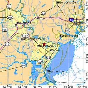 Port Neches Grove Texas Map