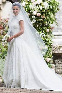 Pippa middletons wedding dress revealed vanity fair for Pippa middleton s wedding dress