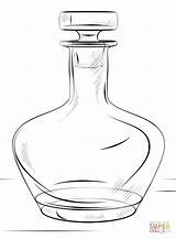 Bottle Coloring 89kb 880px Drawings sketch template