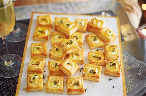 pastry canapes recipes goat 39 s cheese bites recipe food ideas tesco