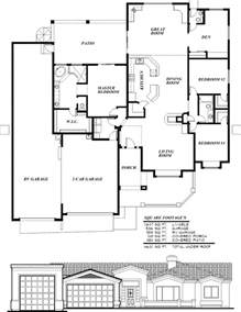 custom built homes floor plans sunset homes of arizona home floor plans custom builder rv with two bedroom interalle