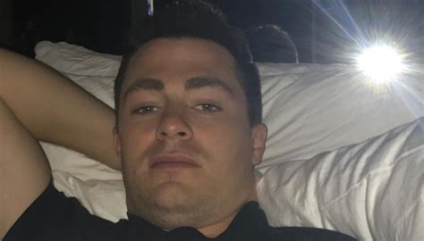 Colton Haynes' New Husband Took A Picture Of Him In Bed As