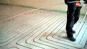 Fußbodenheizung Nachträglich Einbauen : fussbodenheizung nachtr glich einfr sen youtube ~ Orissabook.com Haus und Dekorationen