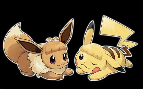 information revealed  pokemon lets  pikachu