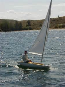 Small One Person Sail Boat