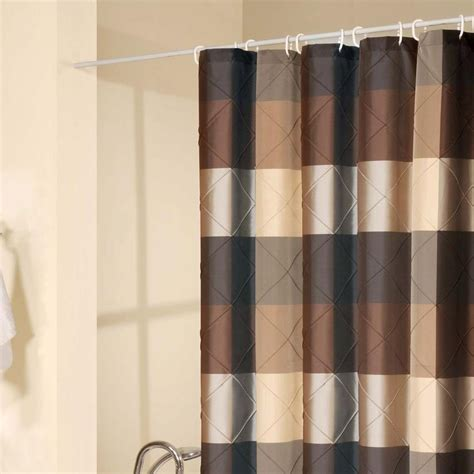 black and brown shower curtain 15 black and brown curtains curtain ideas