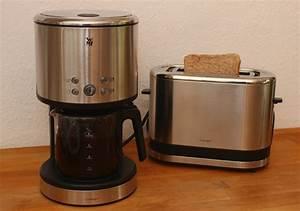 Wmf Mini Kaffeemaschine : mini toaster und kaffeemaschine im test technik ~ Orissabook.com Haus und Dekorationen