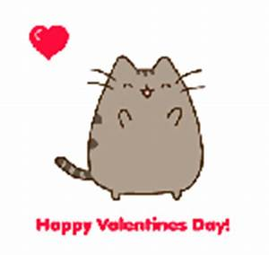 Happy Valentines Day 2014 - Pusheen by KamiWasa on DeviantArt