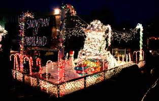 30th annual fantasy of lights christmas parade howell mi november 29th 2013 7 p m floats