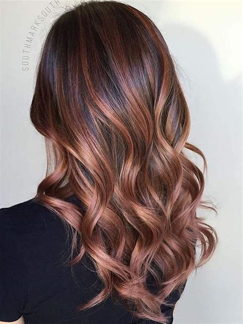 Hair Brunettes by These 3 Hair Color Trends Are About To Be For