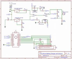 Circuit Diagram For 7 4v Two Step Lithium Battery Charger