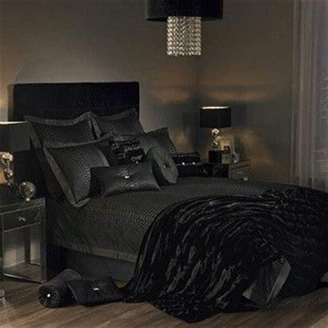black and bedroom ideas svart soverom design soverom style