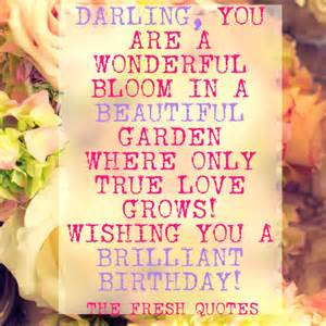 Birthday Wishes Quotes Love
