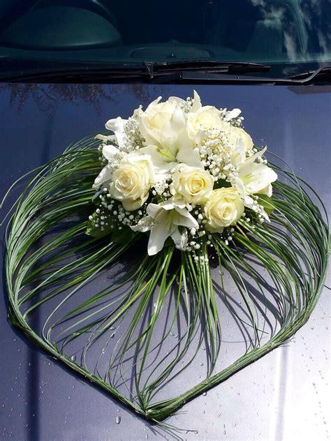 beautiful flowers  car decoration bride car hochzeit