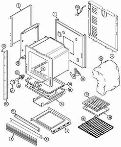 Magic Chef 9495xrb Gas Wall Oven Parts