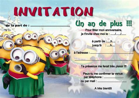 modele invitation anniversaire gratuit carte invitation anniversaire gratuite 224 imprimer garcon