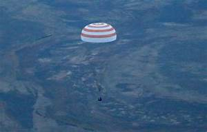 Three ISS astronauts land successfully on Earth