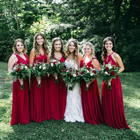 The Best Bridesmaids Dress Colors For Fall Weddings