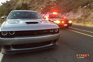 Hellcat Carnage The First Wrecked 2015 Challenger SRT