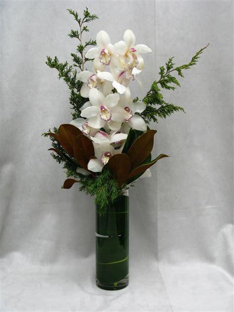 Beautifully Exotic Orchids Make For A Unique Arrangement