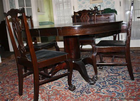 mahogany dining room set chippendale custom mahogany dining room set jpg merrill s auction