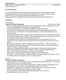 resume profile paragraph exle resume profile exles ebook database