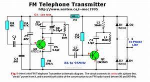 Fm Telephone Transmitter  Telephone Transmitter
