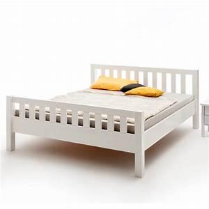 Bett Weiß 100x200 : einzelbett mit kopf und fu teil buche wei deckend 100x200 cm ~ Frokenaadalensverden.com Haus und Dekorationen