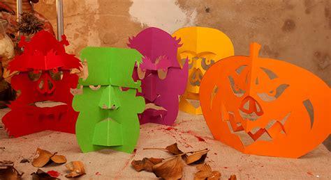halloween tischdekoration lustige tisch monster zum