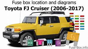 Fuse Box Location And Diagrams  Toyota Fj Cruiser  2006-2017