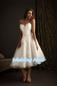 fashion short wedding dress plus size a line sweetheart With cheap tea length wedding dresses