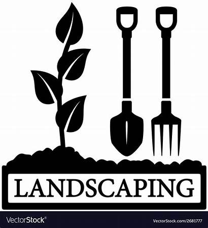 Landscaping Vector Gardening Tools Icon Sprout Vectors