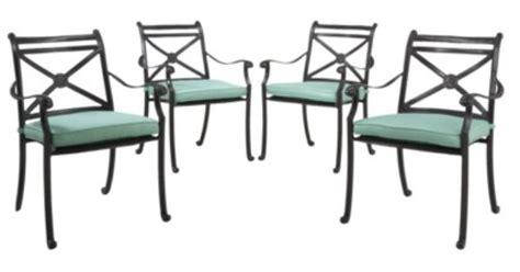 smith hawken 174 edinborough 4 metal patio dining