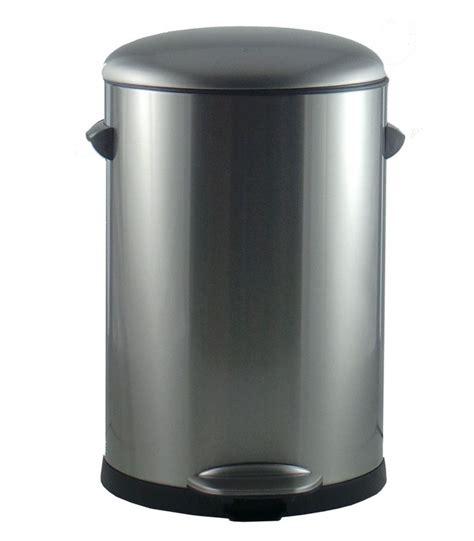poubelle cuisine poubelle de cuisine à pédale vintage 20l wadiga com