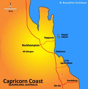 Can you name the tropic of capricorn passes through? Capricorn Coast Accommodation & Holidays in Queensland ...