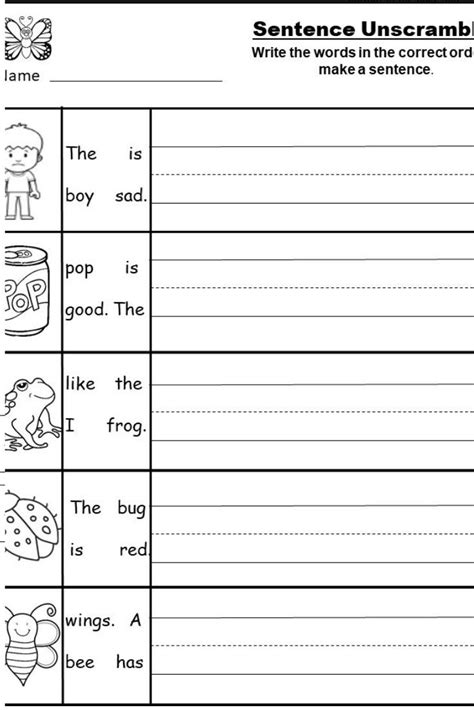 kindergarten writing printable kindermommacom