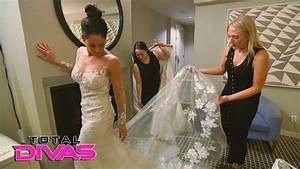 nikki bella tries on wedding dresses for the first time With nikki bella wedding dress