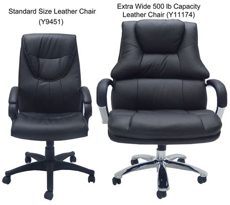 500 Lb Capacity Desk Chair by Wide 500 Lbs Capacity Leather Desk Chair