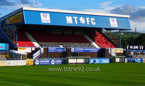 Macclesfield Town FC   Moss Rose Stadium   Football League ...
