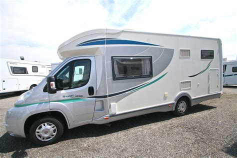 Chausson Sweet Garage Occasion  Fiat  Camping Car En