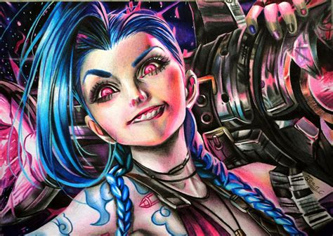 jinx league of legends by jeancarlo183 on deviantart